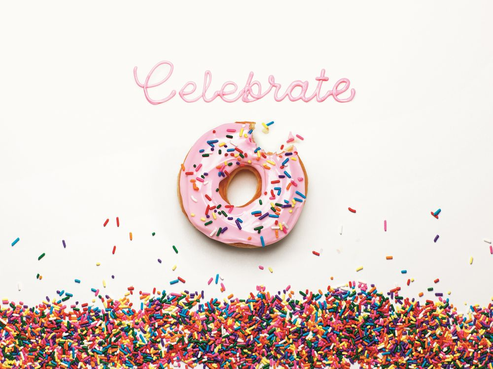 Dunkin' Donuts' geofence branding for National Donut Day